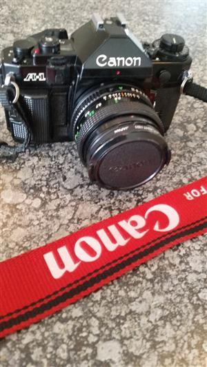 Canon A1 SLR Camera