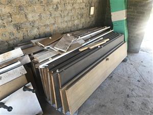 Wood Cupboards Panels