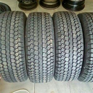 Goodyear wrangler tyre