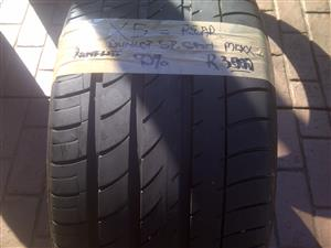 1xDunlop SP Sport Max tyre 315/35/20,90% thread