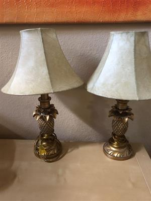 Golden Crafted Bedside table lamps