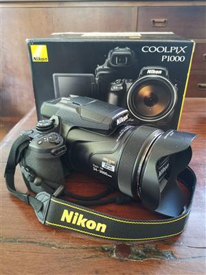 Nikon P1000, brand new.