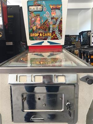 Drop-A-Card Pinball Machine 1 player by Gottlieb, for sale