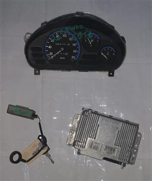 DAEWOO MATIZ 2003 (F8C) USED LOCKSET FOR SALE