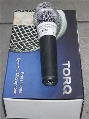 Torq microphone with jack cable in box S036875A #Rosettenvillepawnshop