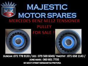 MERCEDES BENZ M112 TENSIONER PULLEY