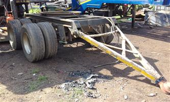 double axle trailer Dolly