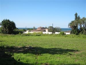 Lovely Cleared Stand-Close to the Sea-with Sea Views for sale in Port Edward.