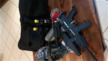Tippmann x7 phenom paintball gear