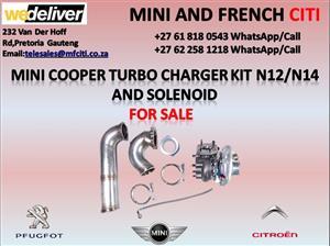 Mini cooper turbo kit set for sale