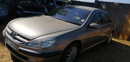 2002 Peugeot 607 3.0 V6 tiptronic