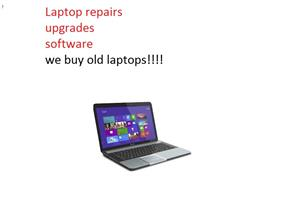 cash for old working or not laptops