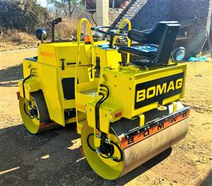 Bomag BW-120-AD 3-Ton Vibratory Roller