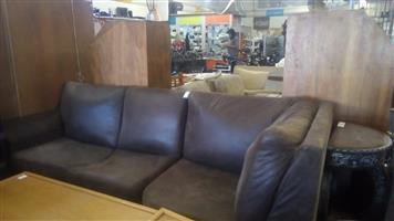 6 Seater Suede Lounge Suite