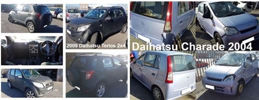 Daihatsu Terios and Charade spares for sale.