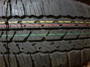 Tyres. 265.65.17 Bridgestone Dueler