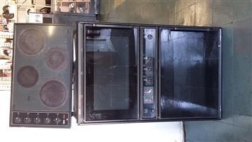 Bargain !! DEFY Hob with Double Door Oven