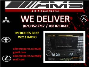 MERCEDES BENZ W211 RADIO FOR SALE