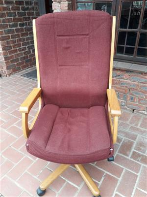Office chair - Solid Wood