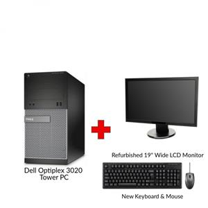 Dell Optiplex 3020 Tower PC Bundle