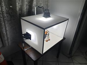 Custom lightbox / shooting tent