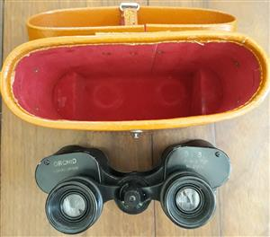 Collectors' Binoculars in Leather case