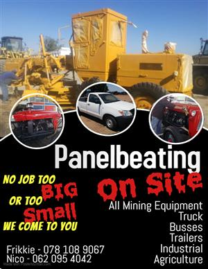 Panelbeating on Site