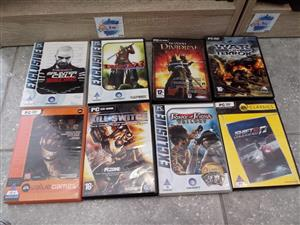 Assorted PC and Xbox Games