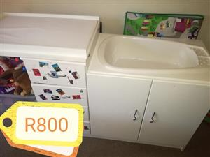 Baby bath cabinet for sale