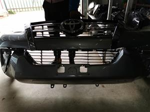 TOYOTA FORTUNER FRONT BUMPER WITH GRILL FOR SALE