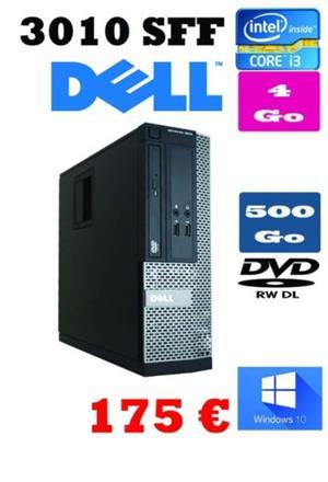 Dell OptiPlex 3010 - SFF - Core i3  3.3 GHz - 4 GB - 500 GB-dvd rw