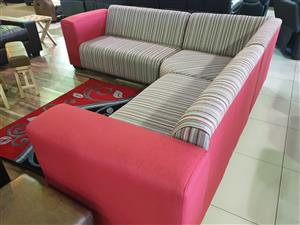 New Jersey corner lounge suite WAS 10495 NOW R 7495