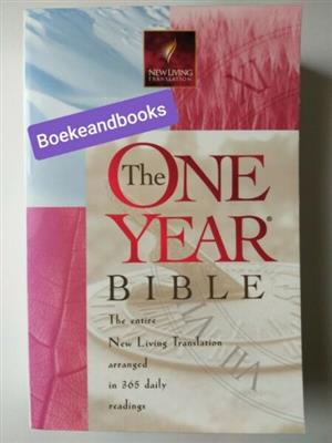 The One Year Bible - New Living Translation - 365 Daily Readings - Tyndale.