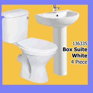 Basin & Toilet Combo