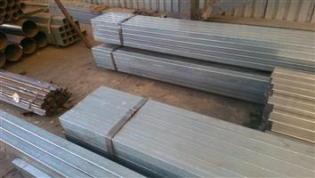 Steel tubes, Galvanized tubes, 3CR12 tubes and Lip channels FOR SALE