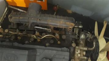 kia k2700 complete engine for sale