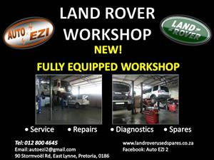 Land Rover Services, Repairs and Diagnostics | Auto Ezi