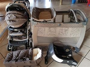Graco travel set for sale