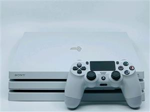 Sony PS4 pro Glacier white 1tb brand new