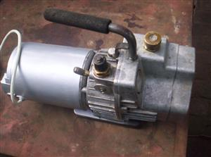 Vacuum pumps x two