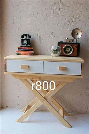 Foldable wooden drawer