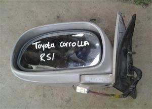 Toyota Corolla RSI Door Mirror Electric LH