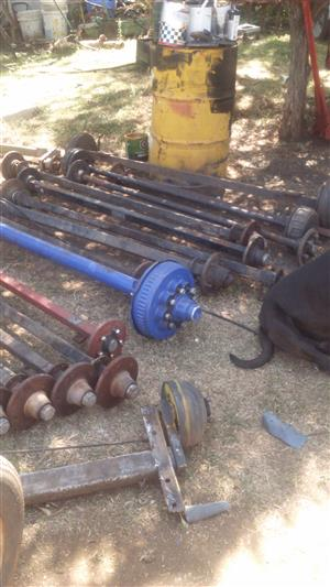Various Axles for sale