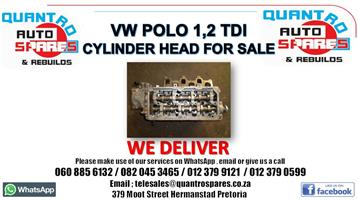 Vw polo 1.2 tdi bluemotion Cylinder head for sale