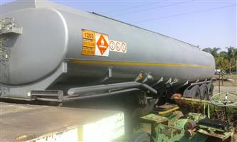 Fuel Tanker Tri Axle 35 000L