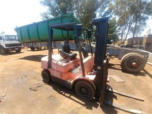 2.5 ton Hyster diesel forklift
