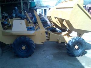 Benford TT2000 four wheel drive, 2 Ton Capacity, concrete dumper