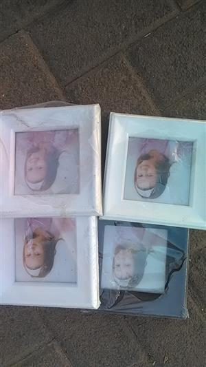 4 Photo frames for sale