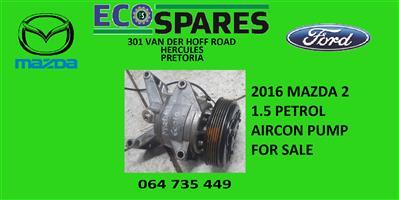 2016 mazda 2 sky active aircon pump for sale