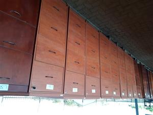 4 drawer wooden filling cabinets R850 each no keys